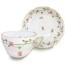 Herend PBGP Tea/Coffee cup and Saucer 730